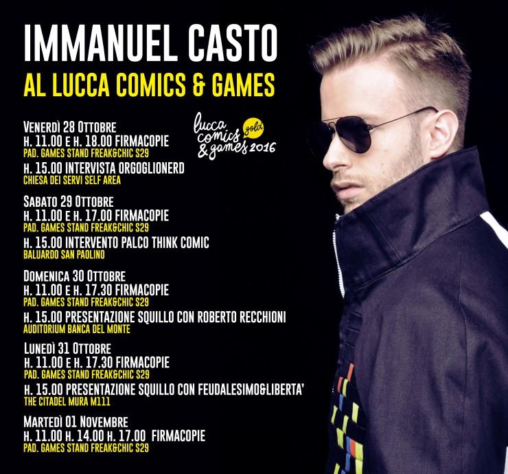 Immanuel Lucca Comics